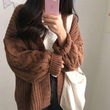 áo khoác nữ len hàn quốc đẹp nhất