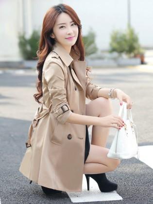áo khoác nữ măng tô đẹp