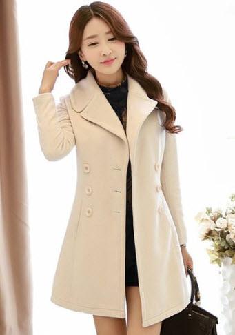 Áo khoác măng tô nữ đẹp