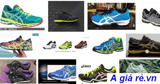 Một số mẫu giày Asics