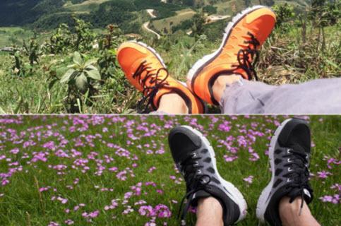 Giày Biti's Hunter Originals phối màu đen và cam