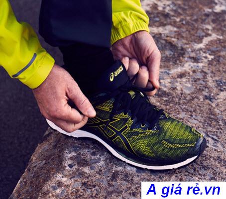 Giày Asics Gel Nimbus 20 phối màu vàng thời thượng