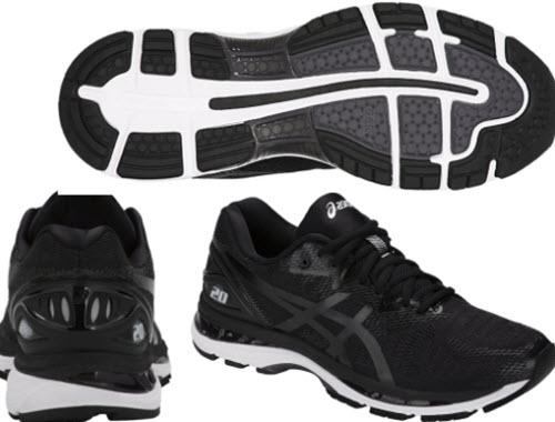 Đôi giày Gel Nimbus 20 phối màu đen
