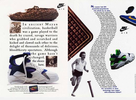 Lịch sử giày Huarache