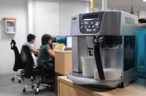 máy pha cà phê văn phòng