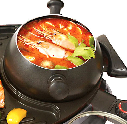 nấu thực phẩm