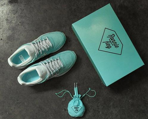 Đôi giày Asics Gel Lyte 5 với phối màu Tiffany