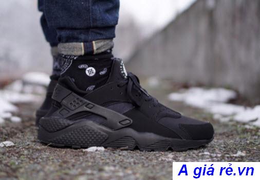 Giày Huarache đen (Triple Black)