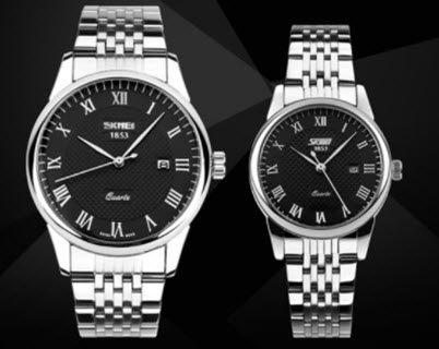 Đồng hồ Skmei 9058 dây kim loại