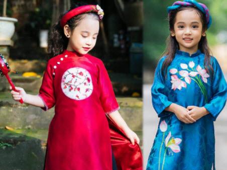 Áo dài cho trẻ em