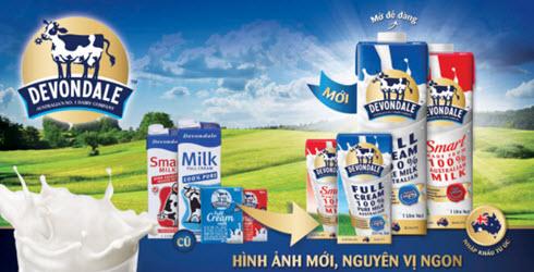 Sữa tăng cân Devondalev