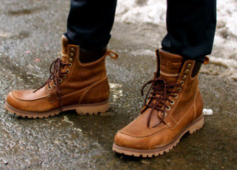 Giày boot nam cổ thấp