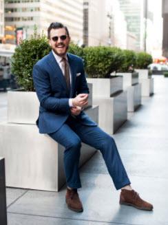 Giày boot nam và bộ Suit