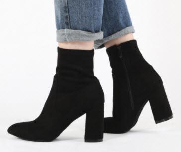 Giày boot nữ đế cao