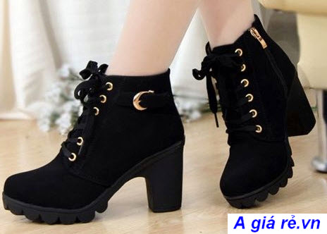 Giày boot nữ hàn quốc