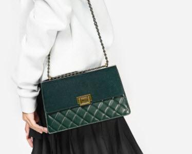 Túi xách Quilted sling bag