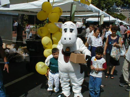 chú bò đại diện sữa Kanny