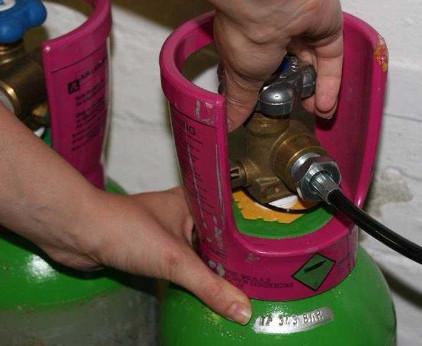 Khóa gas an toàn sau khi sử dụng