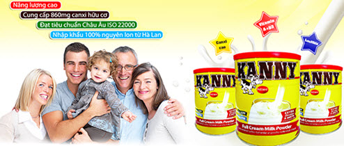 Sữa bột giúp tăng cân nguyên kem Kenny
