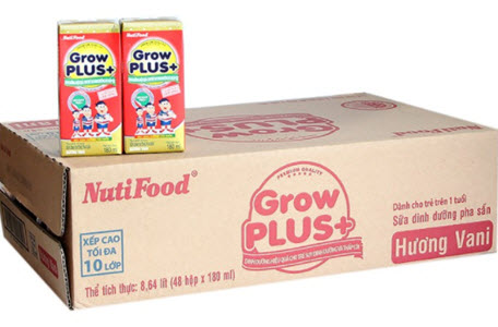 Thùng sữa Vinamilk Grow Plus