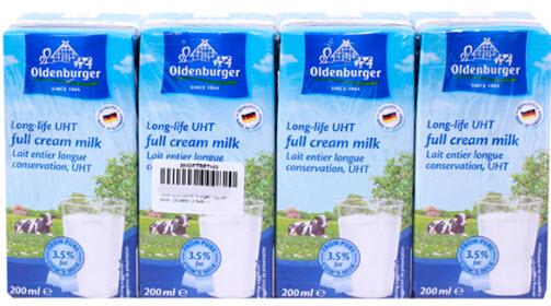 Sữa tươi nguyên kem Oldenburger 3,1%