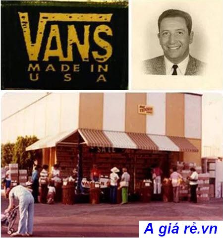 Cửa hàng giày Vans tại Mỹ