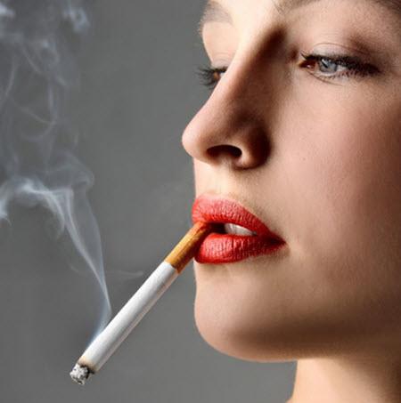 thuốc lá gây bạc tóc