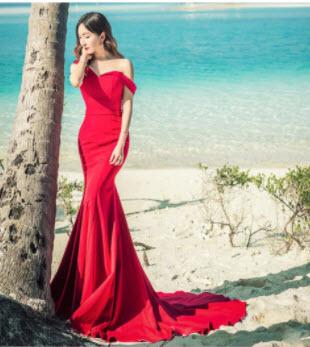 Đầm dạ hội đuôi cá