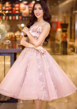 Đầm dạ hội ngắn