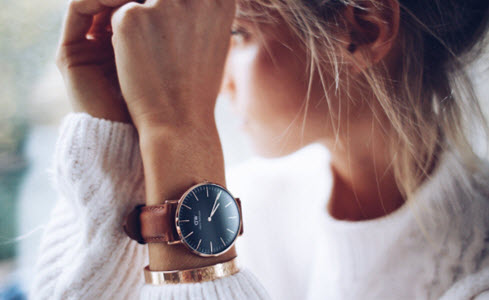Đồng hồ nữ Daniel Wellington Black ST Mawes