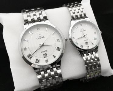 Đồng hồ cặp Omega hàng hiệu