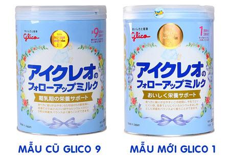 glico số 9 và số 1