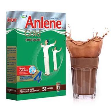 Sữa Anlene Gold hương Chocolate cho người trên 50 tuổi