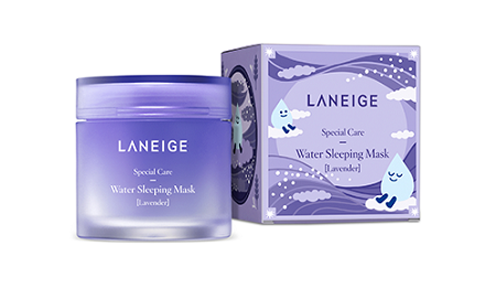 aneige water sleeping mask lavender