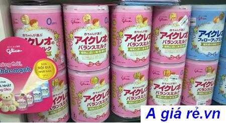 nguồn gốc sữa glico