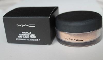 Phấn phủ dạng bột Mac