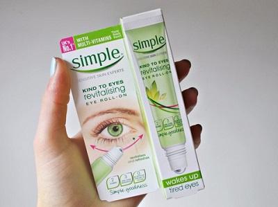 kem dưỡng mắt simple