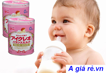 sữa glico cho bé