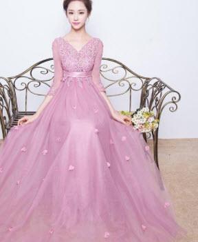 Đầm dạ hội voan