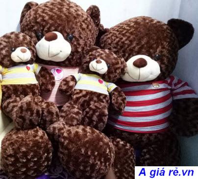 Gấu bông Teddy to bằng người