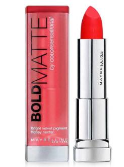 Son Maybelline màu hồng cam - Bold Matte MAT2