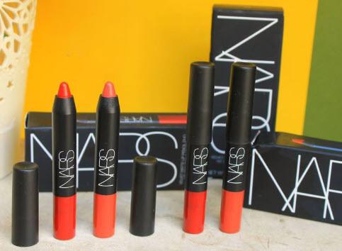 Son Nars bút chì - Nars Velvet Matte lip Pencil