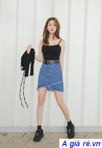 Chân váy Jeans ngắn