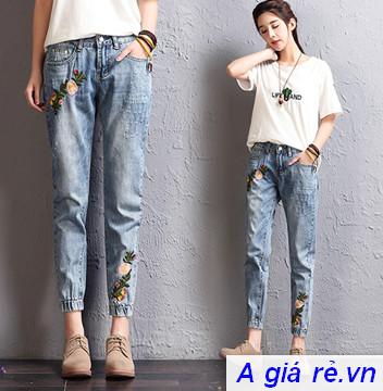 Quần Jeans nữ giá rẻ
