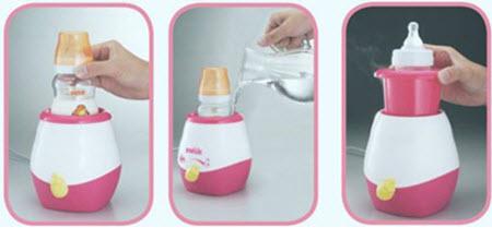 cách sử dụng máy hâm sữa