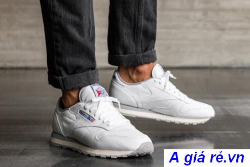 Giày Reebok All White chính hãng