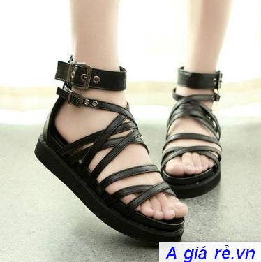 Giày sandal nữ đế bánh mì