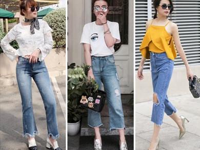 Quần skinny jeans nữ