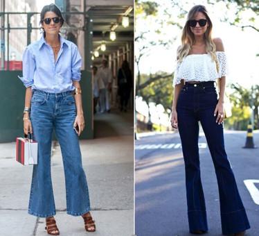 Quần Jeans ống đứng