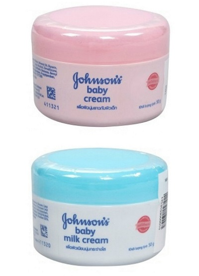 Kem dưỡng ẩm cho da dầu Johnson Baby